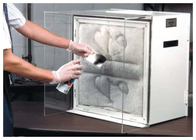 Air Impurities Removal Systems Extract-ALL Bench-Top Clean Air Station:Gloves,