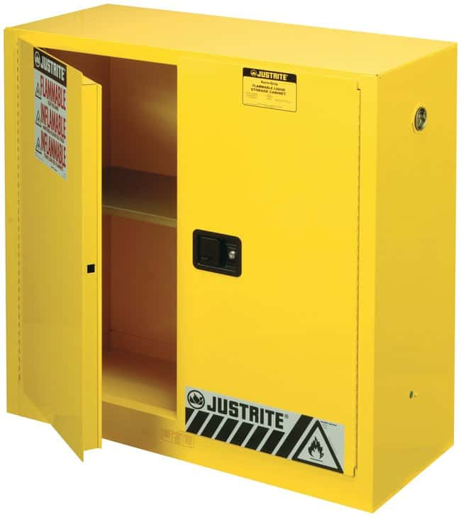 Justrite™ Sure Grip™ EX Flammable Safety Cabinet ...