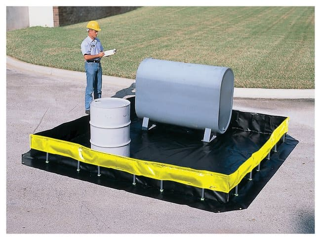 Youngstown Barrel , Collapsible Wall Model :Gloves, Glasses and Safety:Spill