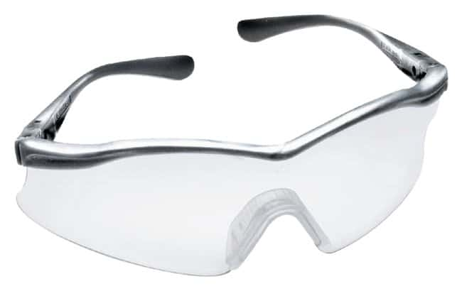3M X.Sport Eyewear Silverized Temple; Clear Lens:Gloves, Glasses and Safety