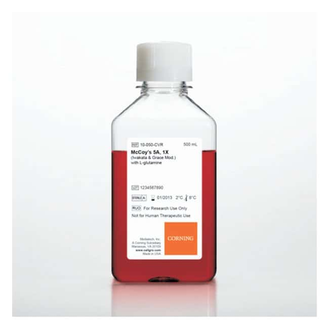Corning McCoy's 5A (Iwakata and Grace Mod.), 1X :Cell Culture:Cell Culture