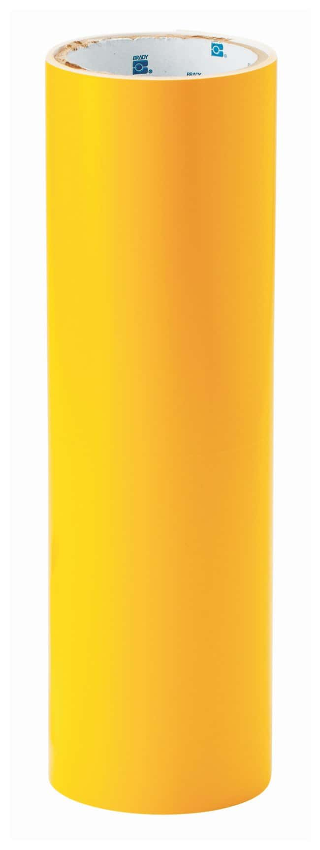 Brady Shadow Vinyl Rolls Color: Yellow:Racks, Boxes, Labeling and Tape