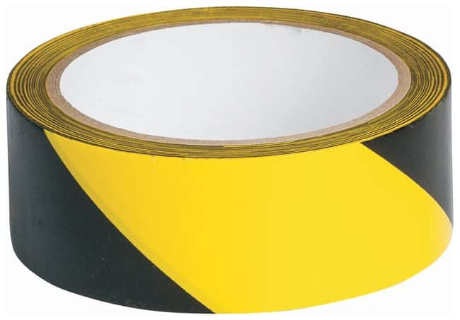 Brady Striped Warning Tapes Color: Black/Yellow; L x W: 16.4m x 3.8cm (54