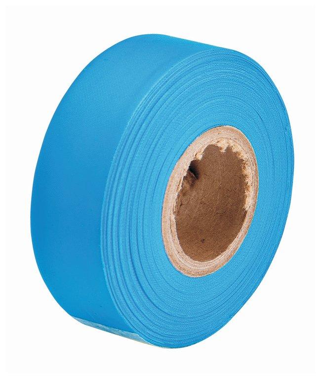 Brady Flagging Tapes Color: Fluorescent blue; L x W: 45.7m x 3cm (150 ft.