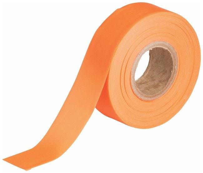 Brady Flagging Tapes Color: Fluorescent orange; L x W: 45.7m x 3cm (150