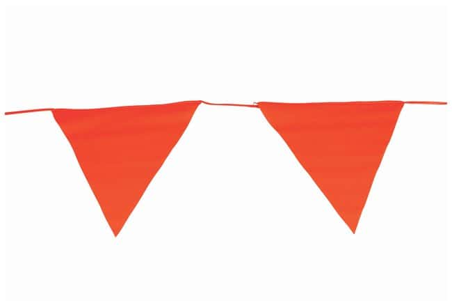 Brady Pennant Barricade Tapes Tape length: 25.2m (83 ft.); 15 pennants:Racks,