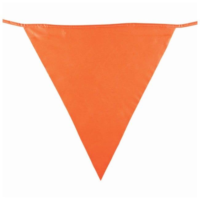 Brady Pennant Barricade Tapes Tape length: 34.4m (113 ft.); 25 pennants:Racks,