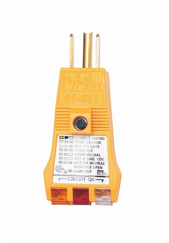 Brady E-Z Check Plus GFI Circuit Tester Circuit tester:Electrophoresis,
