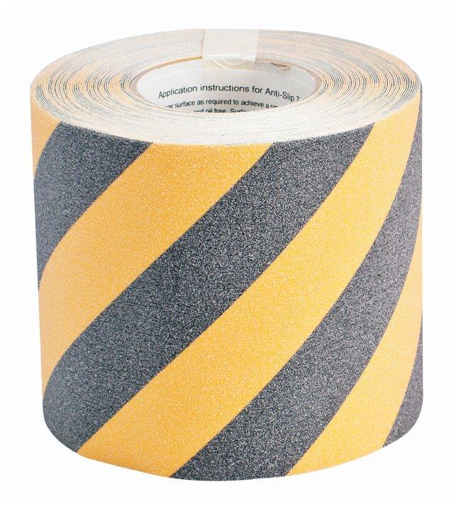 Brady Striped Anti-Skid Tapes L x W: 18.2m x 15.24cm (60 ft. x 6 in.):Racks,
