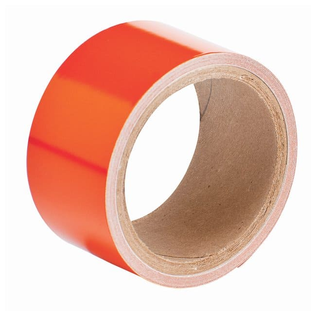 Brady Reflective Tapes Solid tape; Color: Orange:Racks, Boxes, Labeling