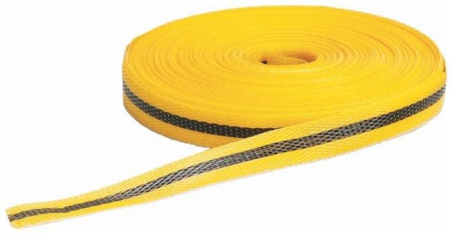 Brady Woven Barricade Tapes Color: Black/Yellow; L x W: 45.7m x 1.9cm (150