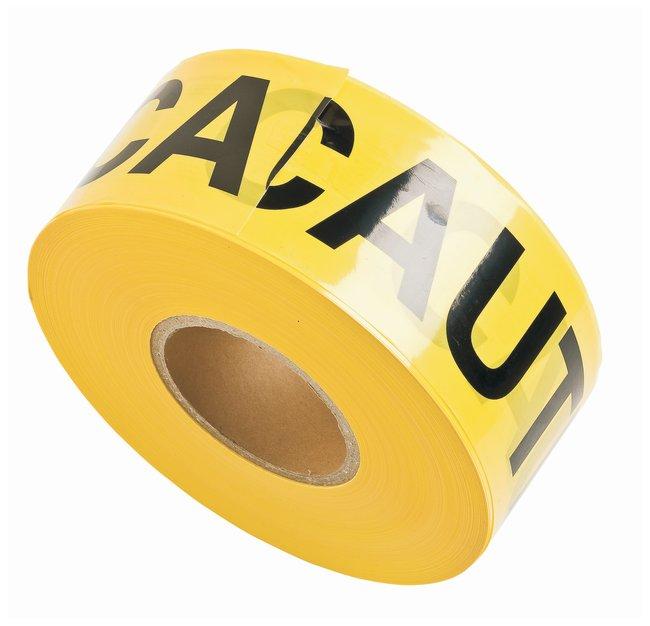 Brady Barricade Tapes Legend: Caution; Color: Black/Yellow; L x W: 304.8m