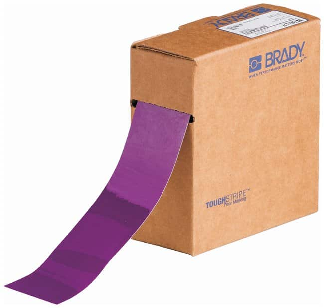 Brady ToughStripe Solid Colored  Tapes Color: Purple:Racks, Boxes, Labeling