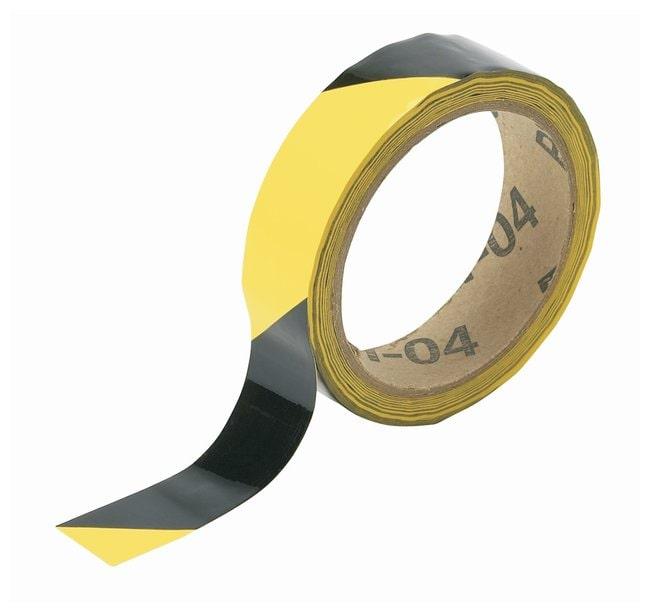 Brady Striped Warning Tapes Color: Black/Yellow; L x W: 16.4m x 2.54cm