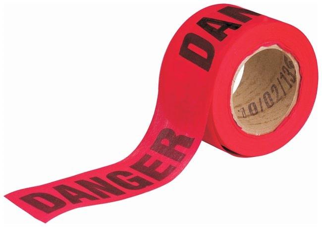 Brady Biodegradable Flagging Tapes Legend: Danger; Color: Black/Yellow:Racks,