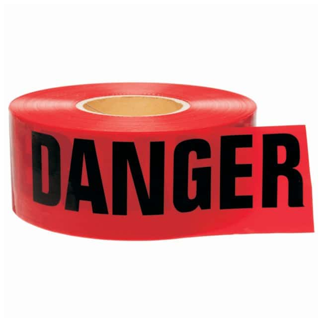 Brady Barricade Tapes Legend: Do Not Enter; Color: Black/Red; L x W: 304.8m
