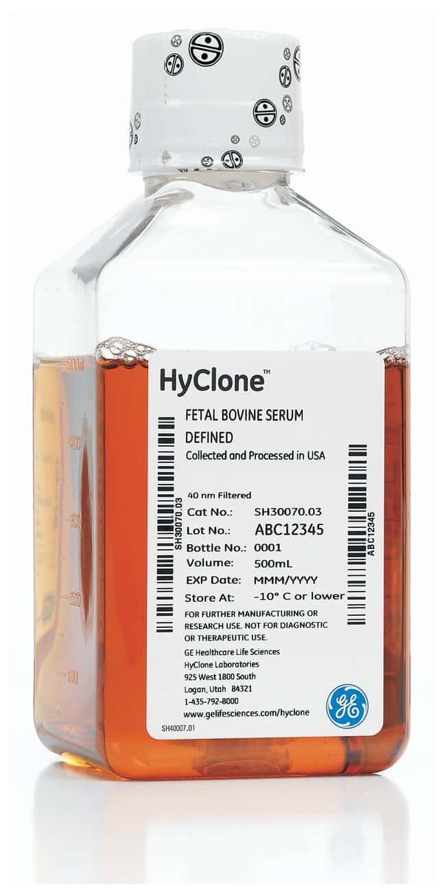 Cytiva (Formerly GE Healthcare Life Sciences) HyClone™ Fetal Bovine Serum (U.S.), Embryonic Stem (ES) Cell Screened
