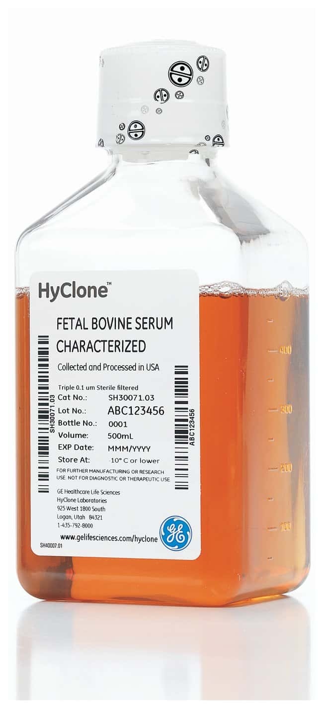 Cytiva (Formerly GE Healthcare Life Sciences) HyClone™ Fetal Bovine Serum (U.S.), Characterized