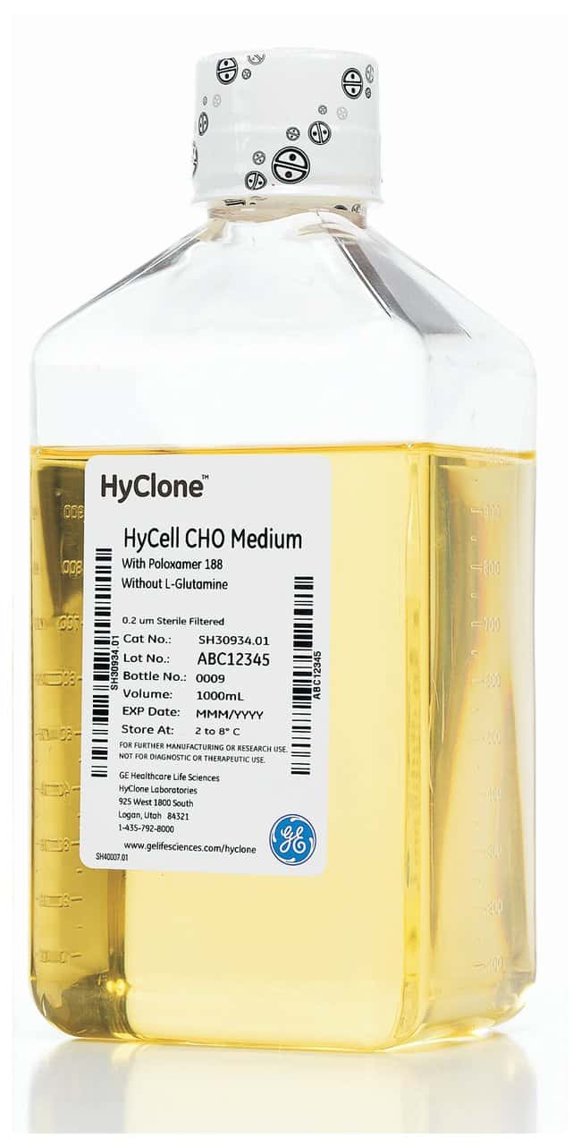 Cytiva (Formerly GE Healthcare Life Sciences) HyCell™ TransFx™-H Media 1L PETE bottle Cytiva (Formerly GE Healthcare Life Sciences) HyCell™ TransFx™-H Media