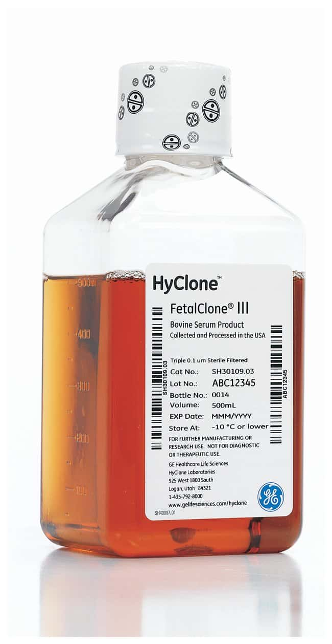 Cytiva (Formerly GE Healthcare Life Sciences) HyClone™ FetalClone™ III Serum (U.S.)
