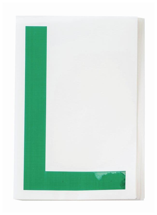 Brady ToughStripe Die-Cut Floor Marking Letter L:Racks, Boxes, Labeling