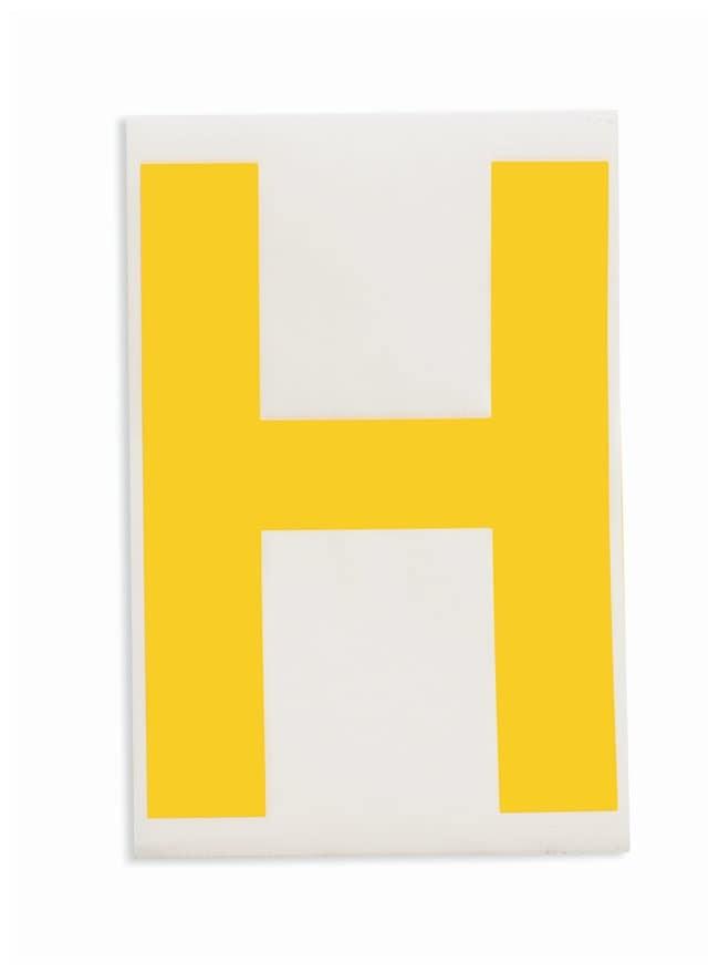 Brady ToughStripe Die-Cut Floor Marking Letter H:Racks, Boxes, Labeling