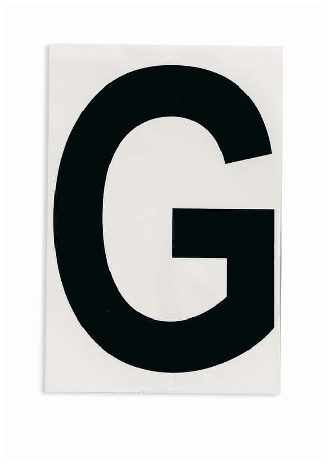 Brady ToughStripe Die-Cut Floor Marking Letter G:Racks, Boxes, Labeling
