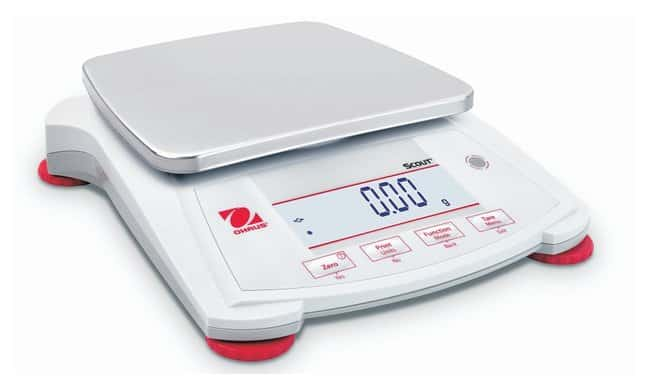 OHAUS Scout SPX Portable Balances  Model: SPX2201, Capacity: 2200g, Readability: