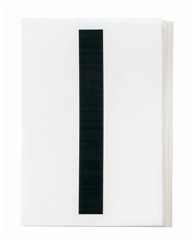 Brady ToughStripe Die-Cut Floor Marking Letter I Color: Black:Racks, Boxes,
