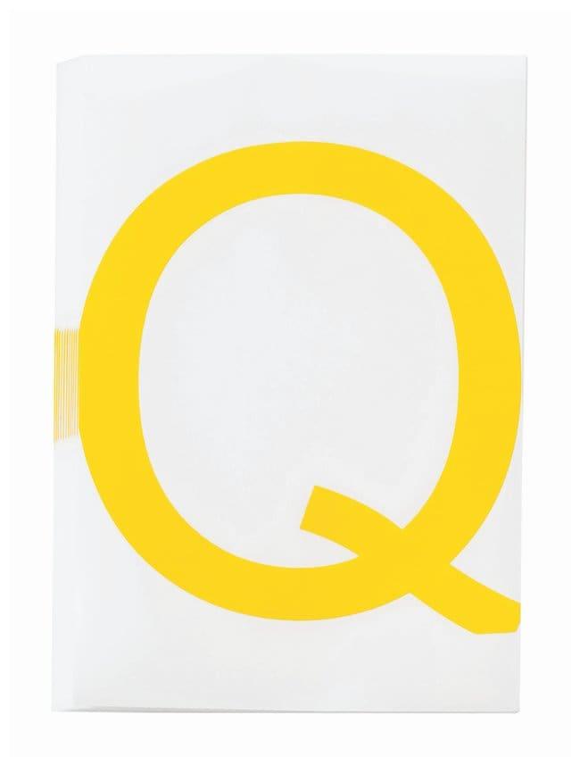 Brady ToughStripe Die-Cut Floor Marking Letter Q Color: Yellow:Racks, Boxes,