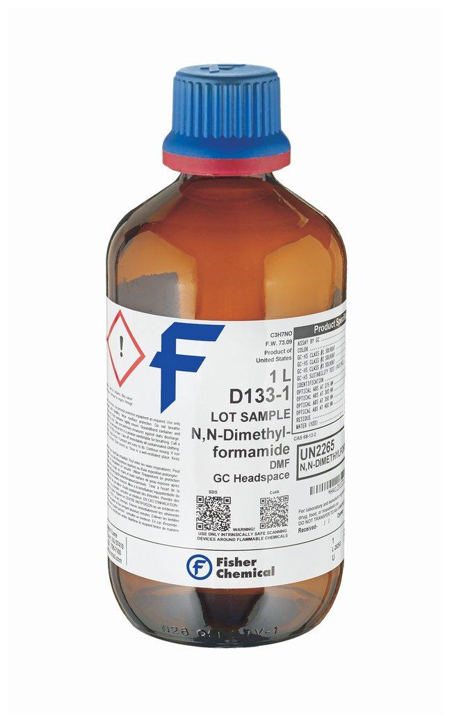 DMF, Dimethylformamide, GC Headspace Grade, Fisher Chemical