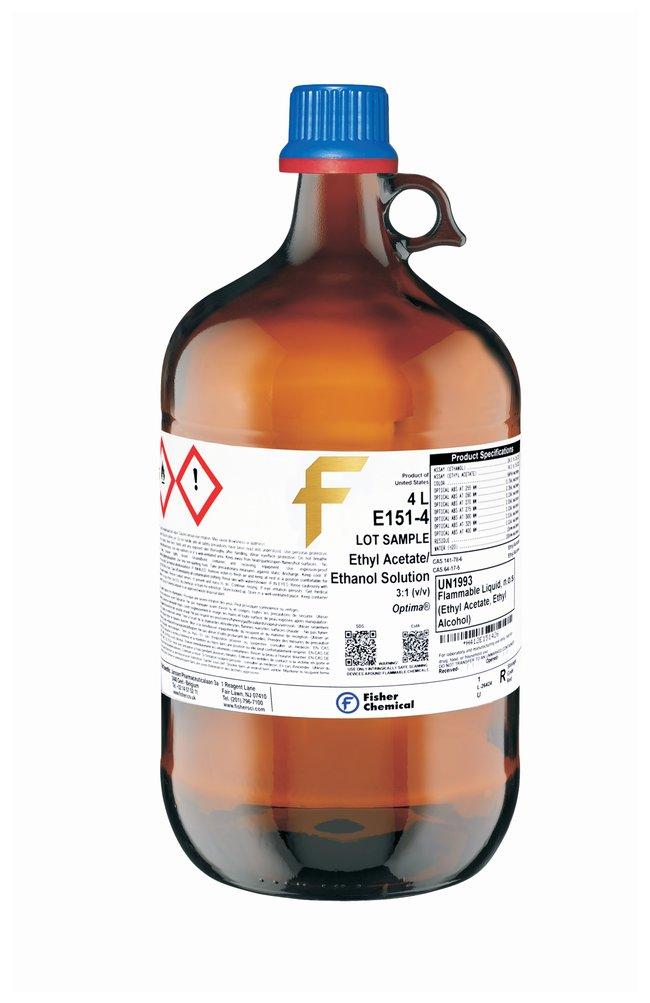 Ethyl Acetate Ethanol Solution, 3:1 (v/v), Optima  for HPLC, Fisher Chemical
