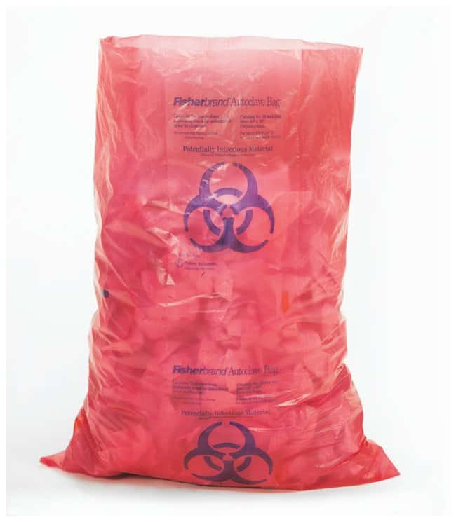 Fisherbrand™ Autoclavable HD Biohazard Waste Bags