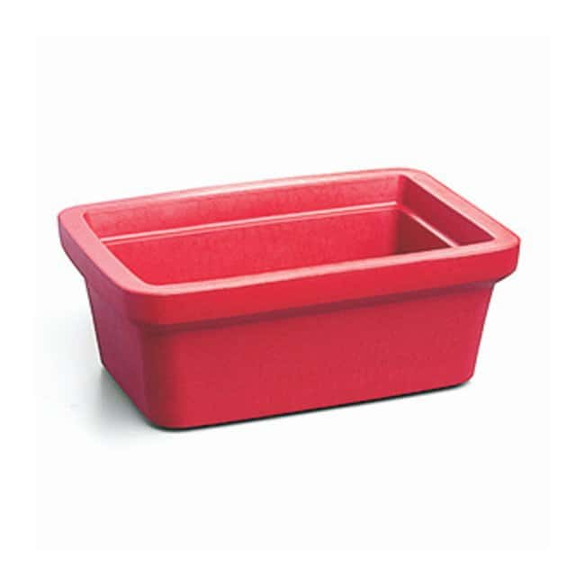 Corning™Rectangular Ice Pan, Midi 4 L Red; 4 L; Ice pan, midi Corning™Rectangular Ice Pan, Midi 4 L
