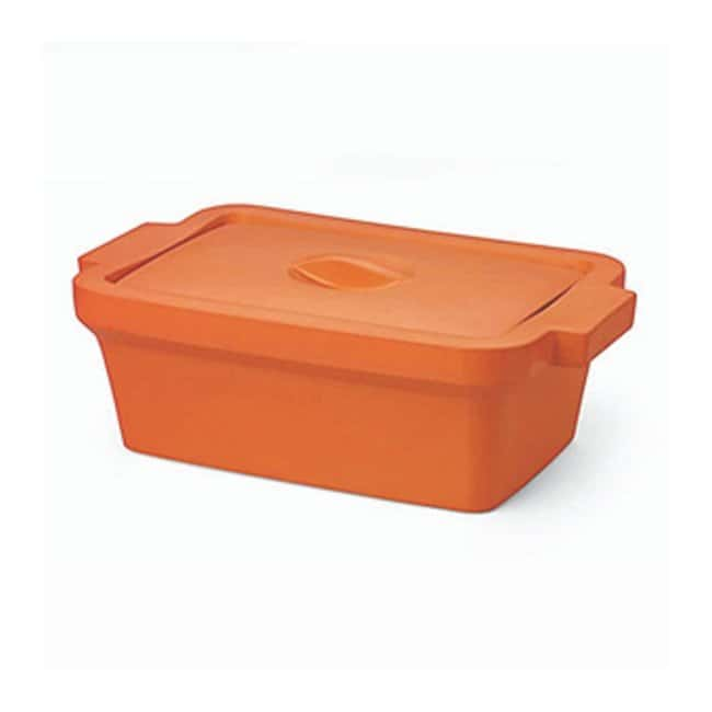 Corning Rectangular Ice Pan with Lid, Midi 4 L :Wipes, Towels and Cleaning:Buckets