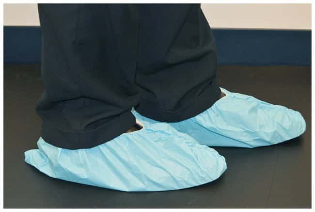 Fisherbrand™Disposable PE Coated Polypropylene Shoe and Boot Covers