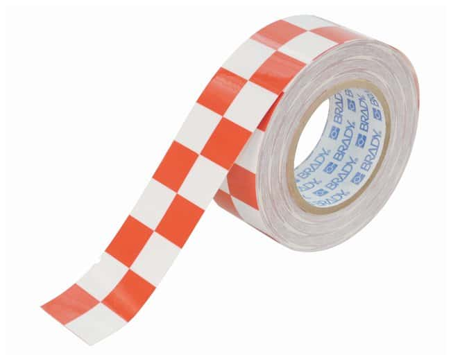 Brady ToughStripe Checkered Floor Marking Tapes Color: Red/White; L x W: