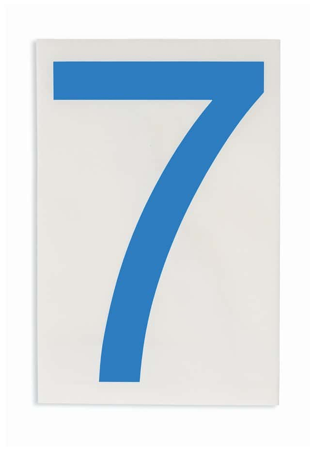 Brady ToughStripe Die-Cut Floor Marking Number 7:Racks, Boxes, Labeling