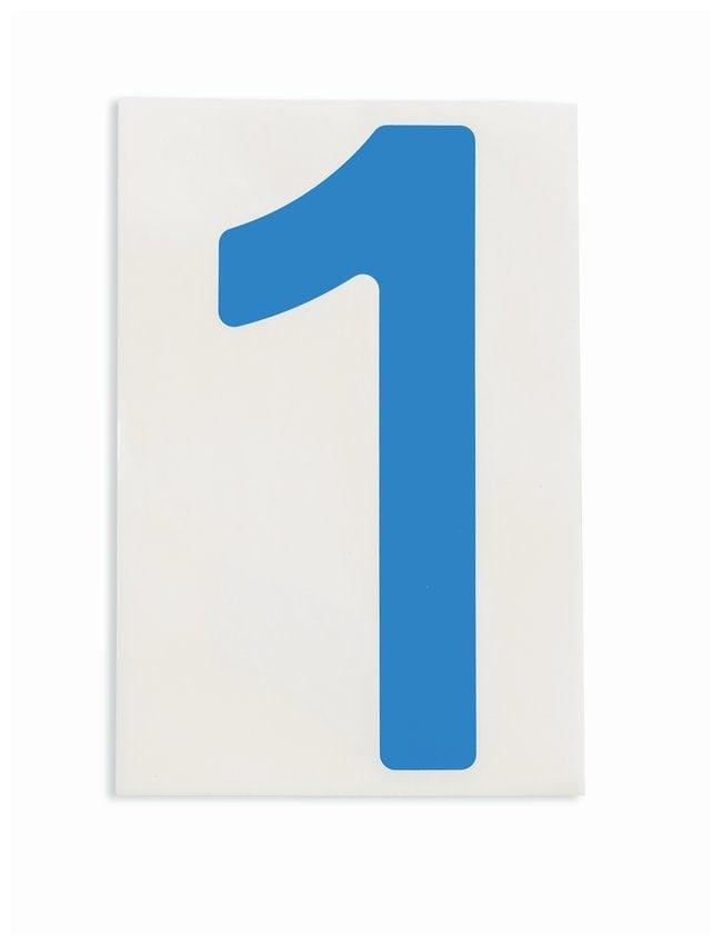 Brady ToughStripe Die-Cut Floor Marking Number 1:Racks, Boxes, Labeling