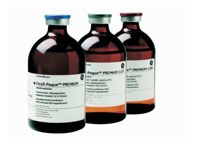 GE Healthcare Ficoll-Paque PREMIUM, 1.074g/mL  Density: 1.074 ± 0.001g/mL;