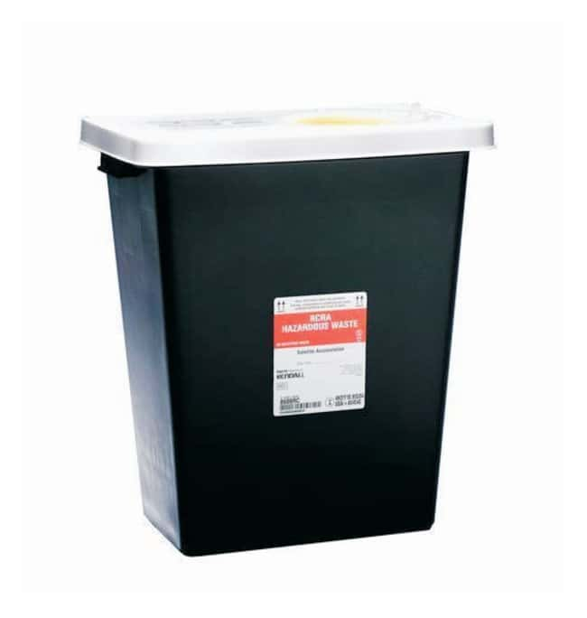 Covidien RCRA Hazardous Waste Containers Sliding lid; Capacity: 18 gallons;