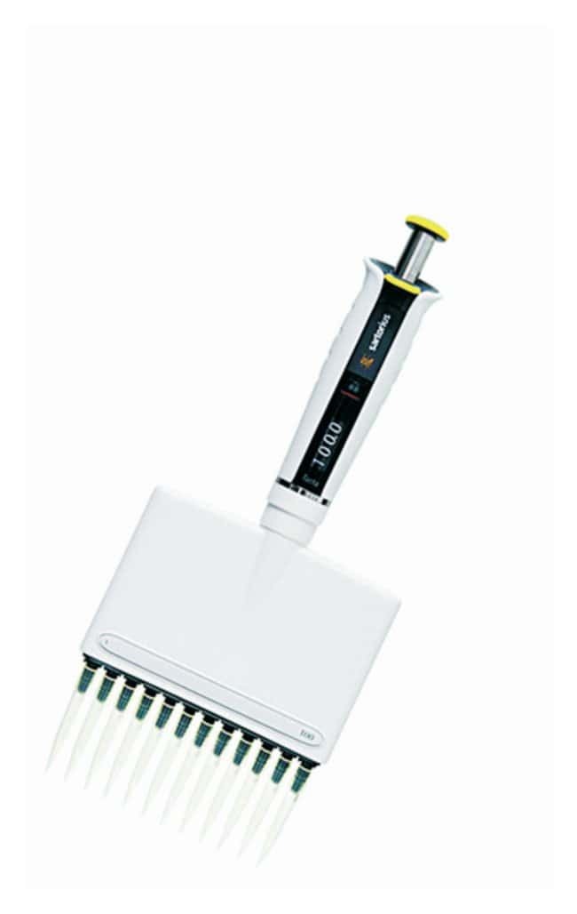 Sartorius™ Micropipetas mecánicas Tacta Channels: 12; Color code: Yellow; Volume range: 5 - 100μL Ver productos