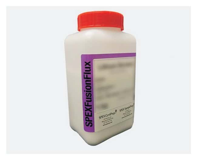 Lithiumtetraborat/Lithiummetaborat/Lithiumbromid (66.67%/32.83%/0.50%) Fusion Flux Pure Crystal für die Probenvorbereitung, SPEX CertiPrep™ 1kg; dreifach gelaugte LDPE-Flasche Inorganic Lithium Compounds