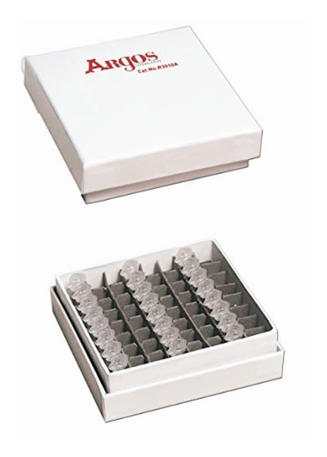 Argos Technologies PolarSafe PCR Cardboard Freezer Boxes 64 place PCR carboard