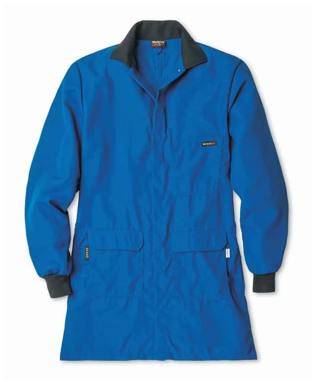 Workrite FR/CP Lab Coat, Men's 4XL, Long:Gloves, Glasses and Safety