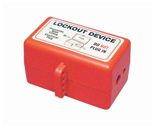 Brady Plug Lockout Device :Gloves, Glasses and Safety
