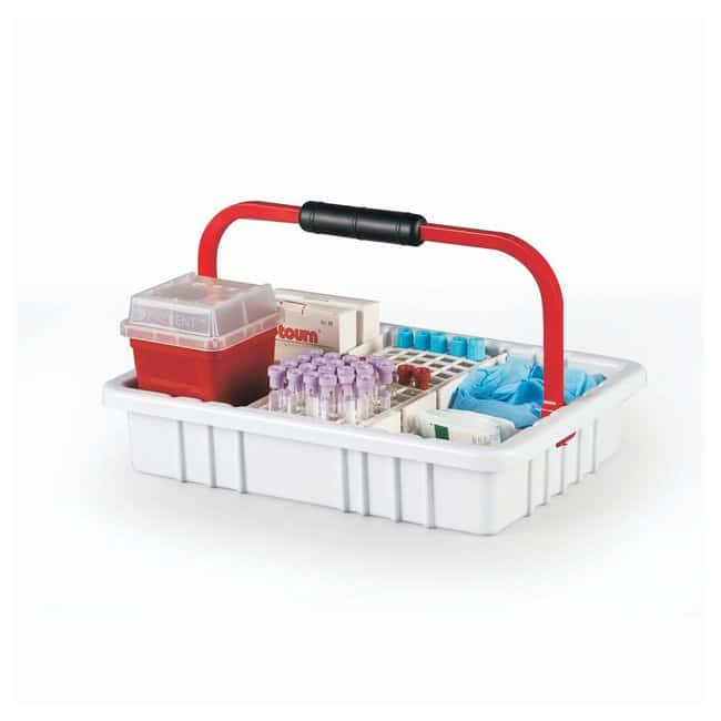 Heathrow Scientific Blood Collection Tray with 60-Place, 17 mm tube rack,
