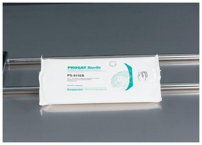 Contec™PROSAT™ Sterile Presaturated Nonwoven Wipes
