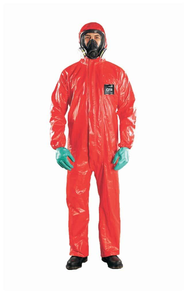 Ansell Alphatec MICROCHEM 68-CFR Flame Retardant Coveralls with Hood Size: