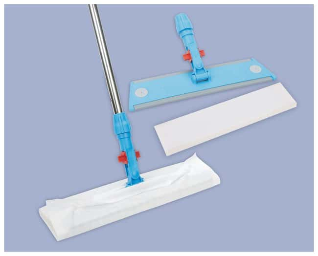 Contec QuicKlean with MicroGenesis Mop and Wipe System Flat mop head frame;